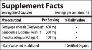 endurance supplement facts